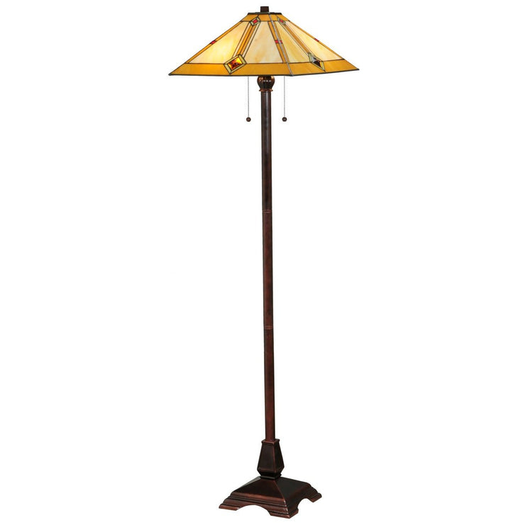 Diamond Mission Floor Lamp