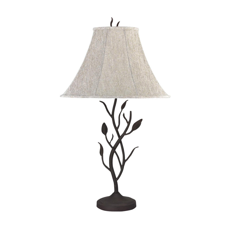 Iron Leaf Table Lamp