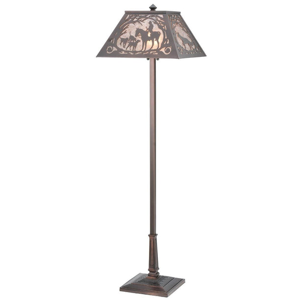 Fox Hunt Floor Lamp