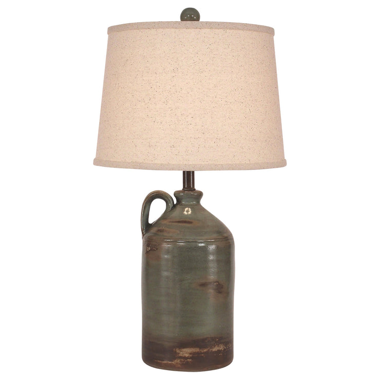 One Handle Jug Harbor Clay Table Lamp