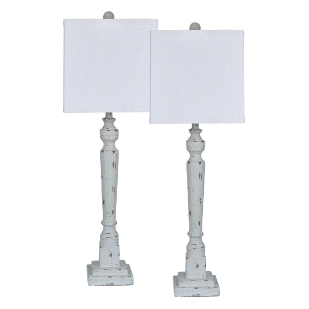 Hearthstone Post Table Lamp Set of 2