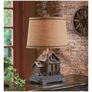 Homestead Table Lamp on Room