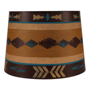 Honey Navajo Band Drum Lamp Shade