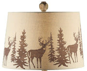 Hunt Table Lamp Shade Finial Close-up