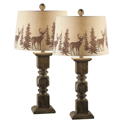 Hunt Table Lamp Set of 2