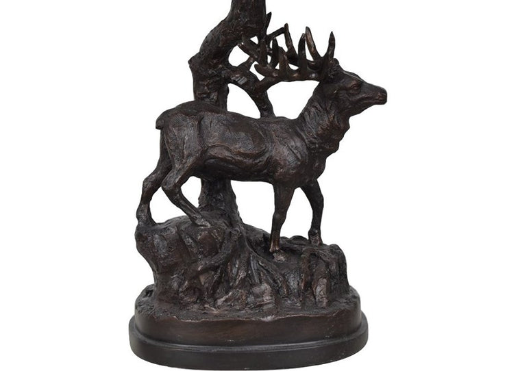 Hunters Walk Table Lamp Base Close-up