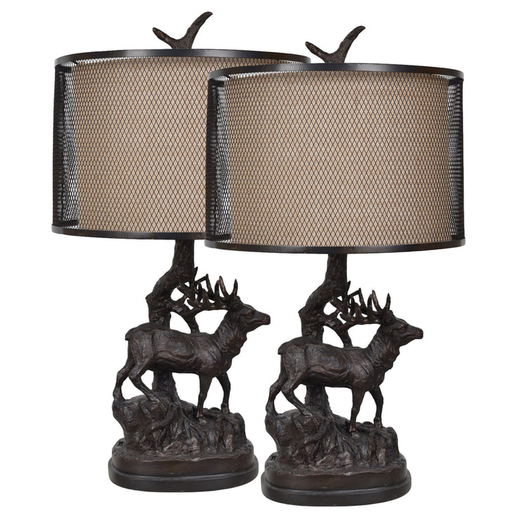 Hunters Walk Table Lamp Set of 2