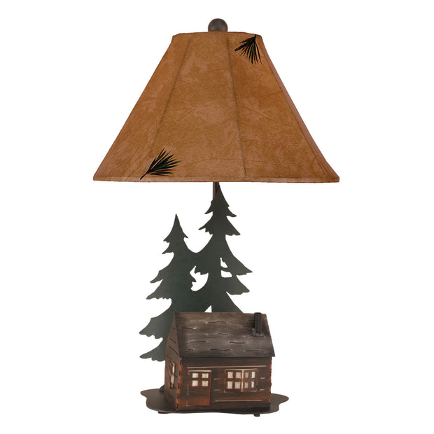 Cabin Table Lamp with Night Light