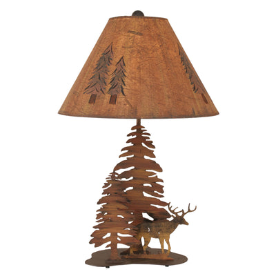 Deer & Trees Table Lamp