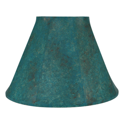 Jade Faux Leather Lamp Shade