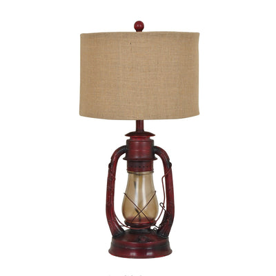 Lauren Lantern Table Lamp with Night Light