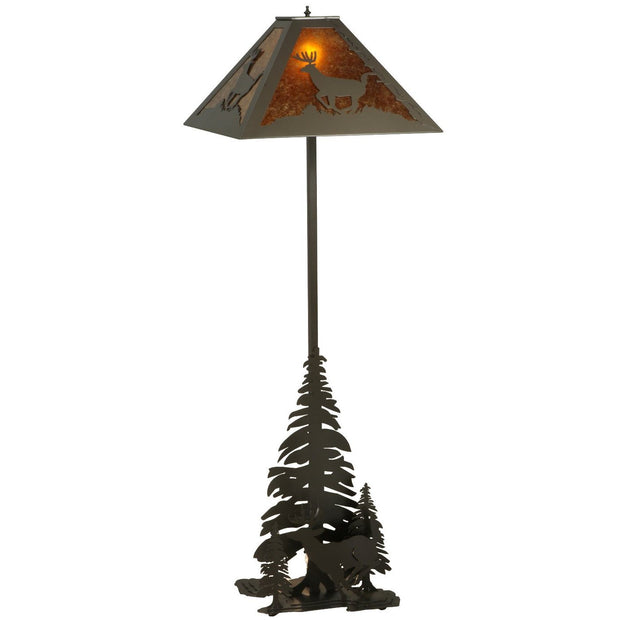 Lone Deer Floor Lamp