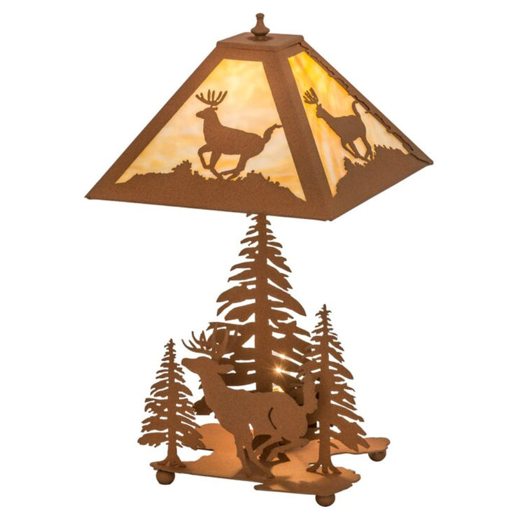 Lone Deer Table Lamp with Night Light
