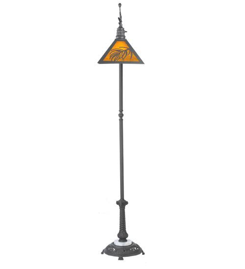 Loon Pine Needle Floor Lamp Front View