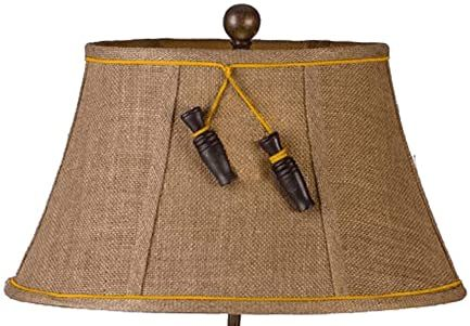 Jumping Trout Table Lamp Shade Close-up