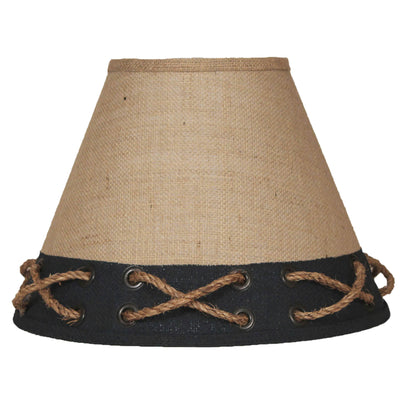 Navy Band Rope and Grommets Lamp Shade