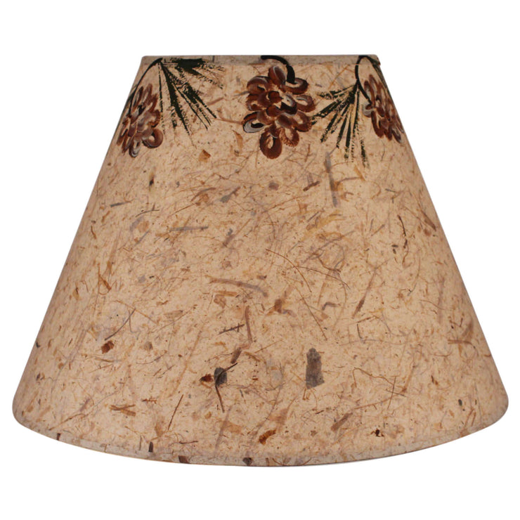 Pine Cone Canopy Lamp Shade