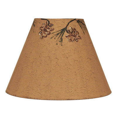 Pine Cone Canopy Light Umber Lamp Shade