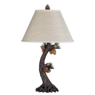 Pinecone Tree Table Lamp