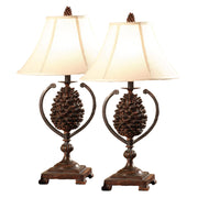 Pine Creek Accent Lamp Set of 2