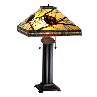 Pine Branch Mission Table Lamp