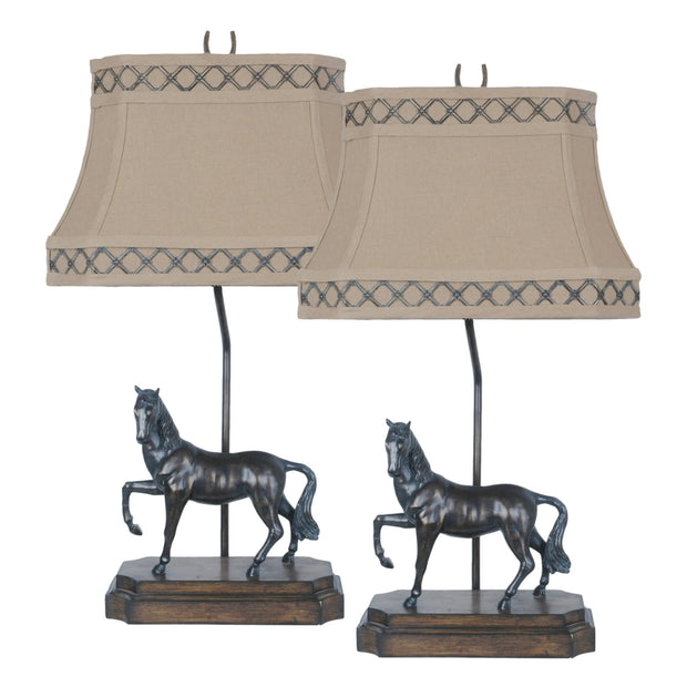 Prancer Table Lamp Set of 2
