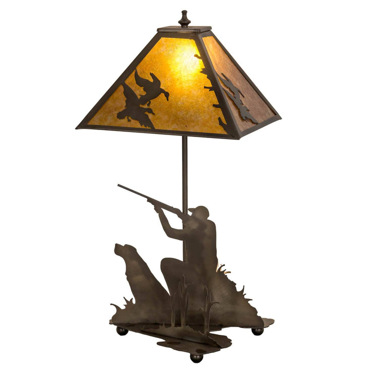 Duck Hunter Table Lamp