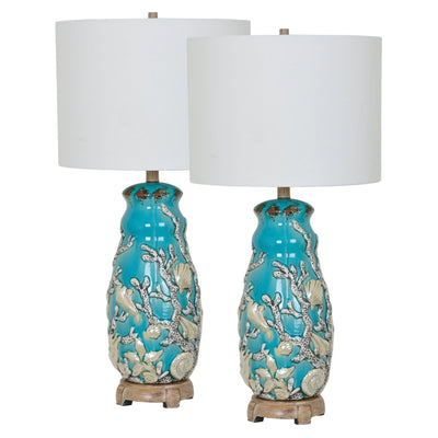 Reef Table Lamp Set of 2