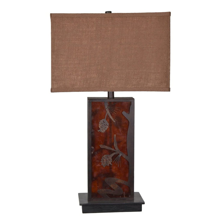 Rhodes Pine Table Lamp