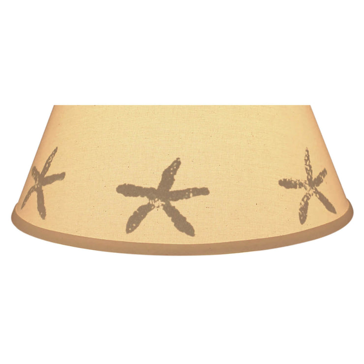 Silhouette Starfish Band Lamp Shade Close-up