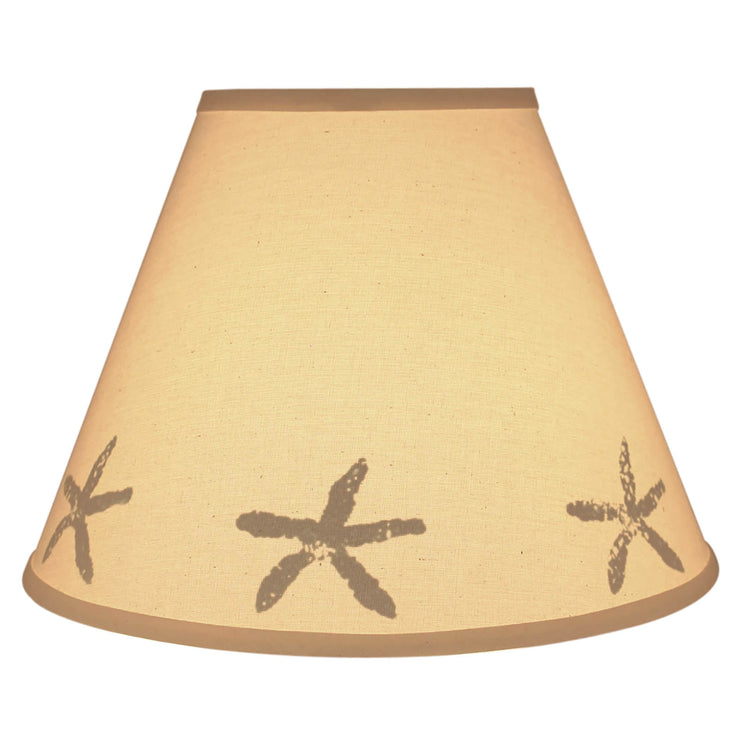 Silhouette Starfish Band Lamp Shade
