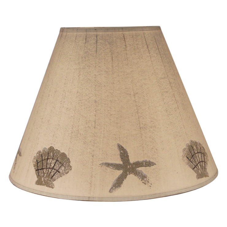 Shell & Starfish Band Lamp Shade