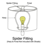 Spider Fitting Lamp Shade