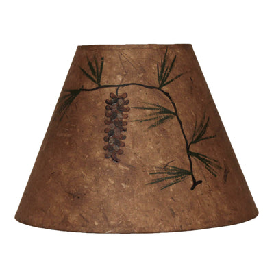 Long Pine Cone Lamp Shade