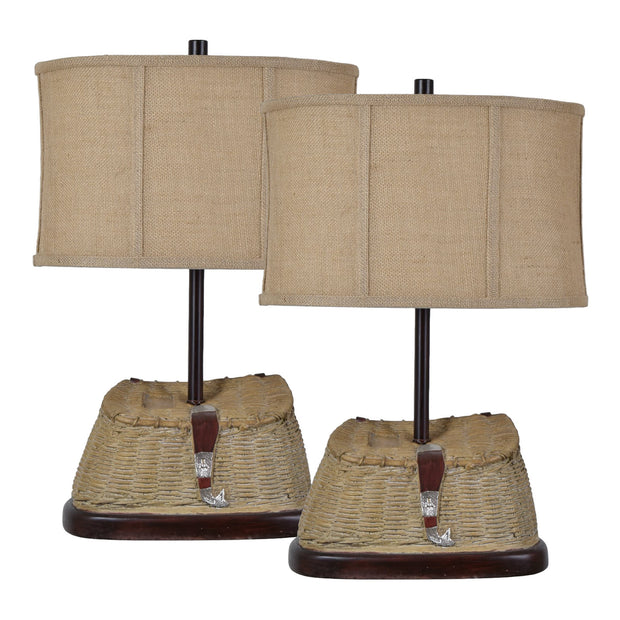 Sun River Table Lamp Set of 2