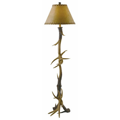 Trophy Antler Floor Lamp