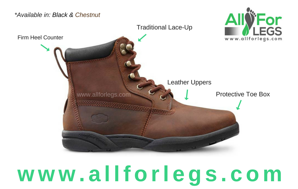 Dr.Comfort Boss Diabetic Boot | www.allforlegs.com