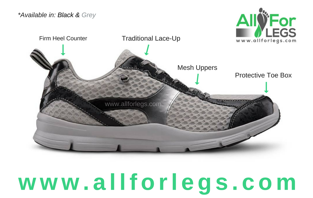 Dr.Comfort Chris Athletic Walking Shoe | www.allforlegs.com