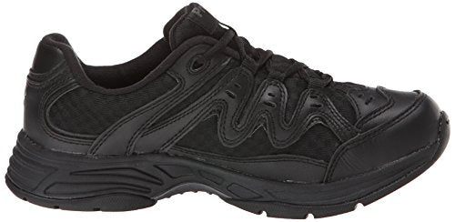 Propet Women's Evie Walking Shoe, Black, 10 N US