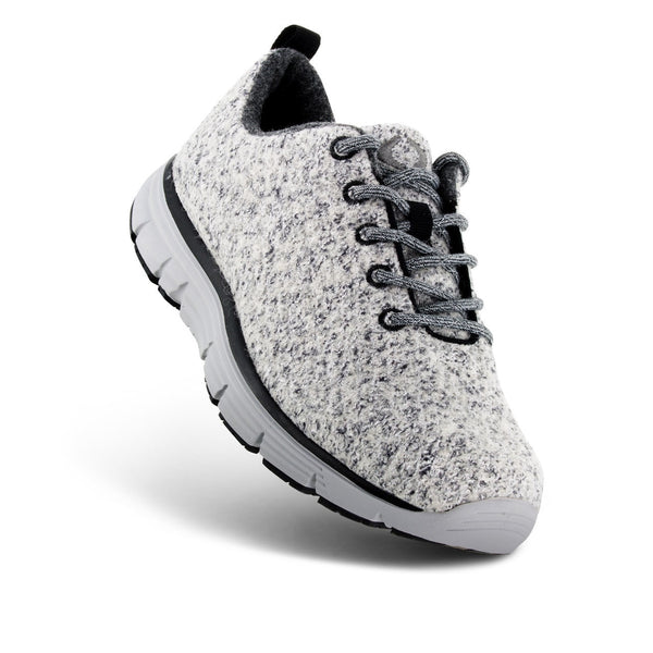 MEN'S NATURAL WOOL KNIT - LIGHT GREY
