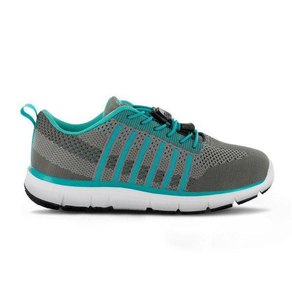 Apex Womens Breeze Knit Athletic Diabetic Walking Shoe - Allforlegs.com