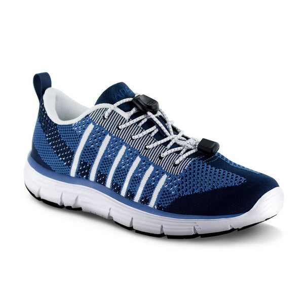 Apex Women's Breeze Knit Athletic Diabetic Shoe, Blue - A7100W | www.allforlegs.com