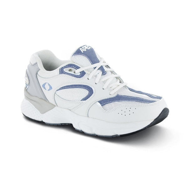 Apex Womens Boss Runner Athletic Diabetic Shoe, Periwinkle - Main Image