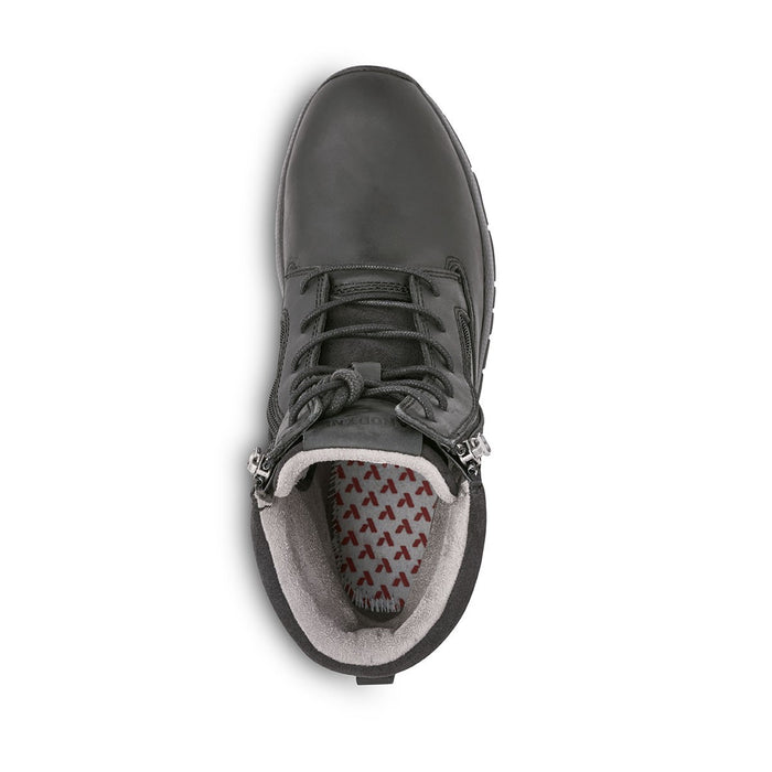Anodyne Men's No.90 Diabetic Therapeutic Trail Worker, Oil Black - Top Image