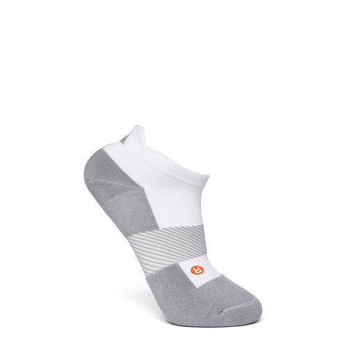 Anodyne Footwear No. 9 No Show Diabetic Socks, White - Side Image | www.allforlegs.com