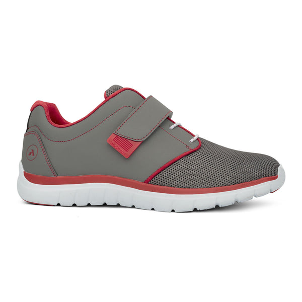 No.46 Sport Jogger - Grey/Red - AllForLegs.com