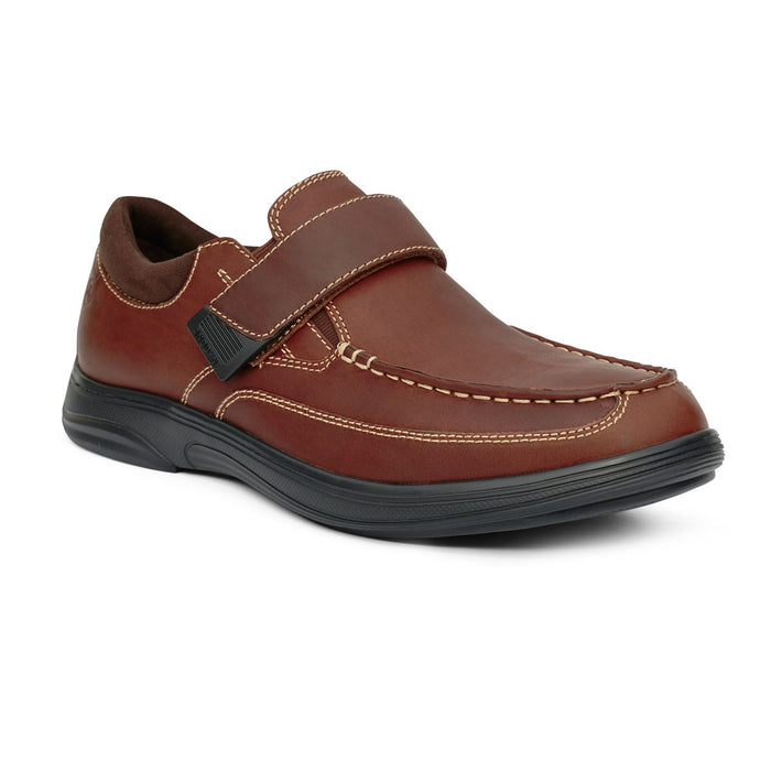 Anodyne Men's No.52 Casual Diabetic Dress Shoe,  Whiskey - Main View | www.allforlegs.com