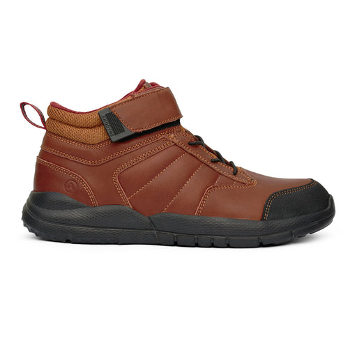 Anodyne Men's No.56 Diabetic Trail Boot, Whiskey - Side View | AllForLegs.com