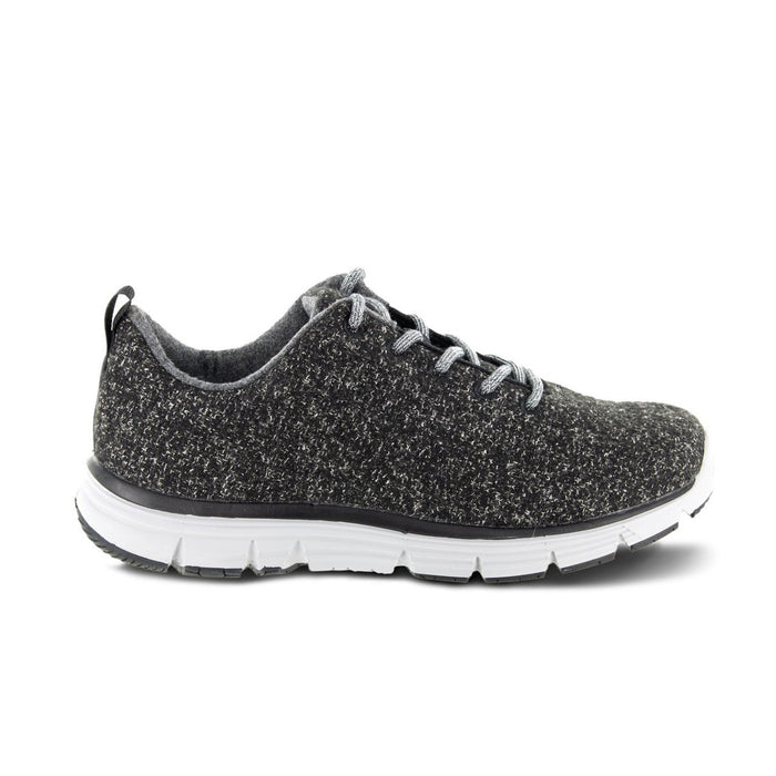 MEN'S NATURAL WOOL KNIT - DARK GREY