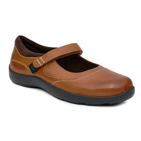 No.19 Casual Mary Jane - Cognac